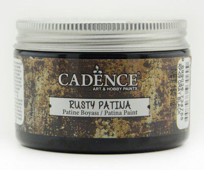 Grijs zwart Cadence rusty patina