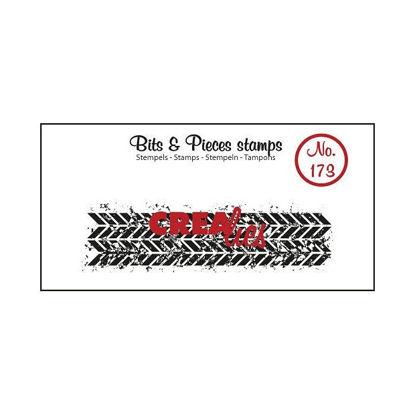 Afbeeldingen van Grunge Zigzag (langw.) - Bits & Pieces