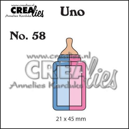 Afbeeldingen van Zuigfles (klein) - Uno stans