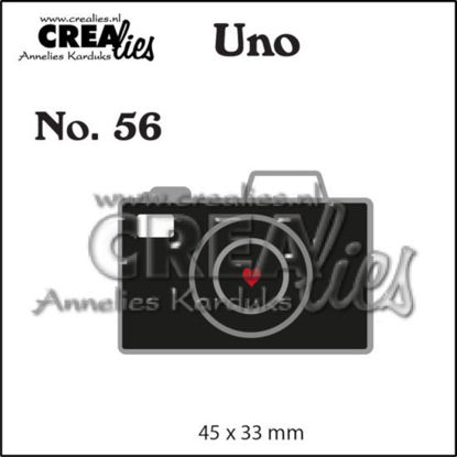 Picture of Camera (small) - Uno cutting die