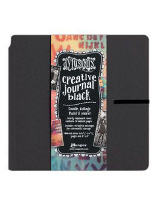 Picture of Dylusions Creative Journal Square - Black