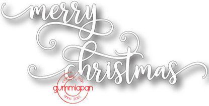 Afbeeldingen van Merry Christmas - stansen (normaal €8,90)