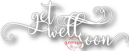 Afbeeldingen van Get Well Soon - stansen (normaal €6,50)