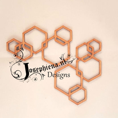 Hexagon edge - MDF