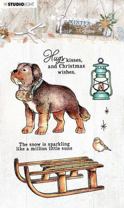 Studio Light SL Clear Stamp Winter Charm nr.488