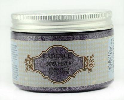 Cadence Dora Perla Met. Relief Pasta donker orchidee