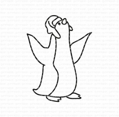 Pinguïn met een hoed