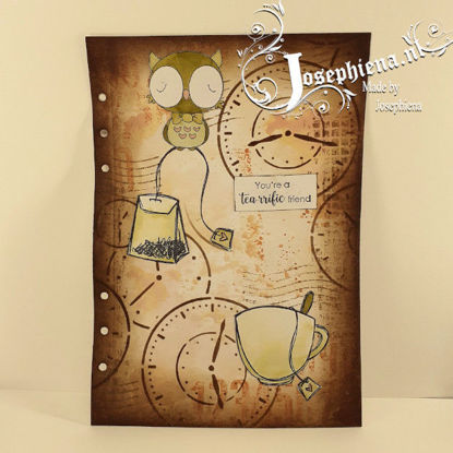 Art journal: Tea-rrific friend