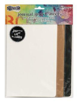 Dylusions Creative Journal Large Insert Sheets