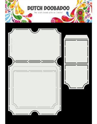 Dutch Card Art A4 Tickets