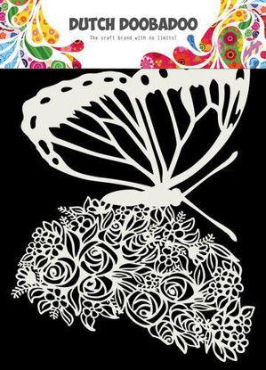 Dutch Doobadoo Dutch Mask Art Butterfly A5