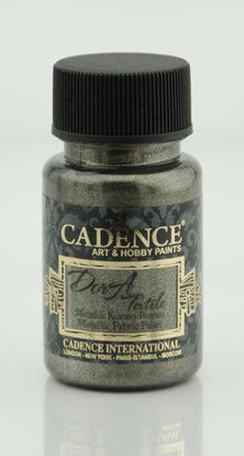 Cadence Dora metallic textiel verf Antracite