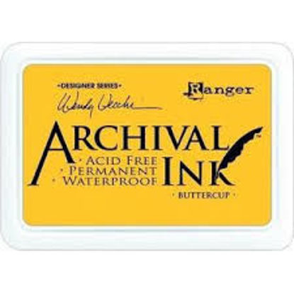 Archival Ink Pads Chrome Yellow