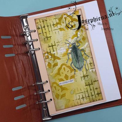 Art journal: ABSOFUCKINGLYTELYNOT! gemaakt door Josephiena
