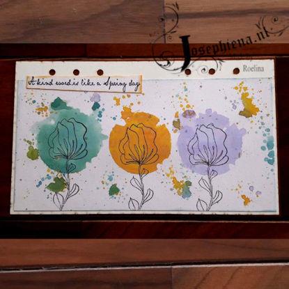 Art journal: A kind word... gemaakt door Roelina