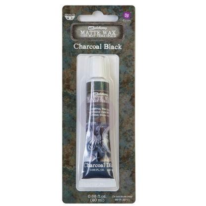 Finnabair Art Alchemy Matte Wax Charcoal Black