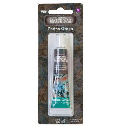 Finnabair Art Alchemy Matte Wax Patina Green