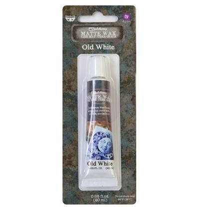 Finnabair Art Alchemy Matte Wax Old White