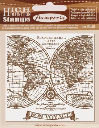 Stamperia Natural Rubber Stamp Voyages Fantastiques