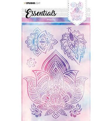 Mask Mandala flowers Essentials