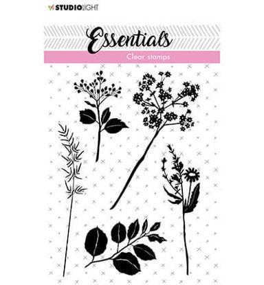 Clear Stamp Flowers/leaves Essentials nr.22