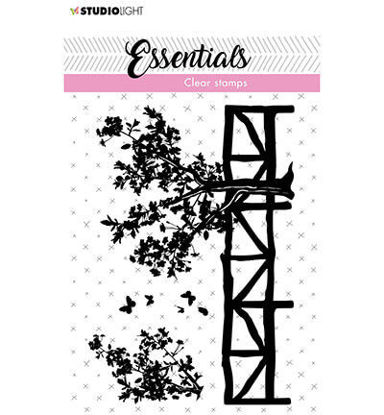 Clear Stamp Fence/trees Essentials nr.25