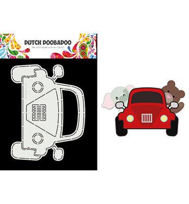 Dutch Doobadoo Card Art Built up Car