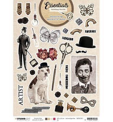 Cutting Sheet Essentials By Jolanda de Ronde nr.1
