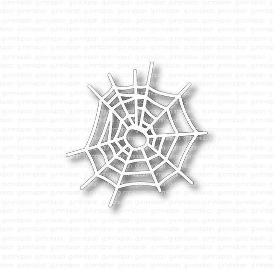 Afbeeldingen van spinnenwebben - stansen - Gummiapan