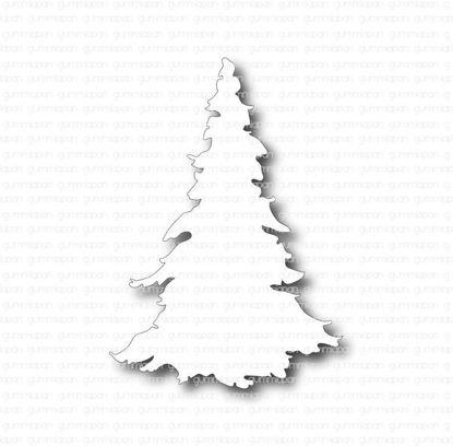 Afbeeldingen van kerstboom - stansen - Gummiapan