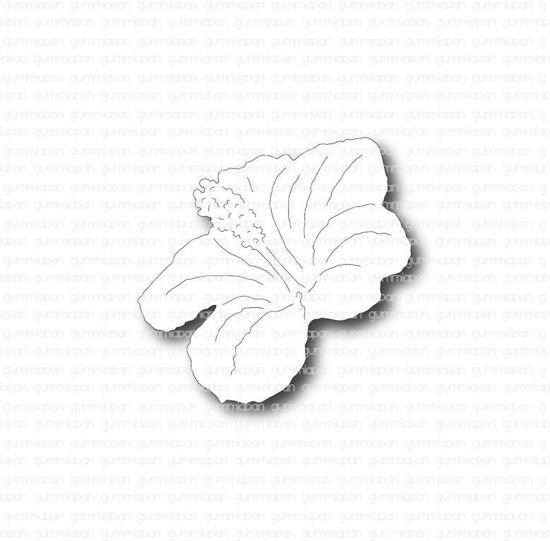 Afbeeldingen van Hibiscus - stans - Gummiapan