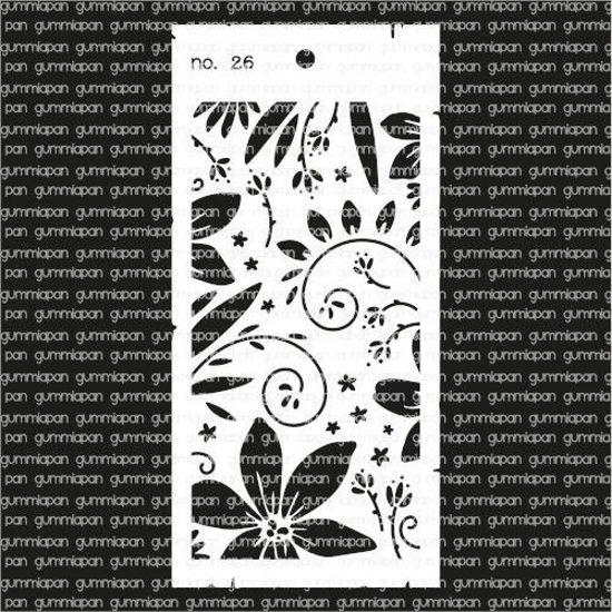 Picture of No. 26 - stencil - Gummiapan
