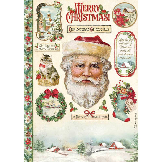 Classic Christmas Santa Claus