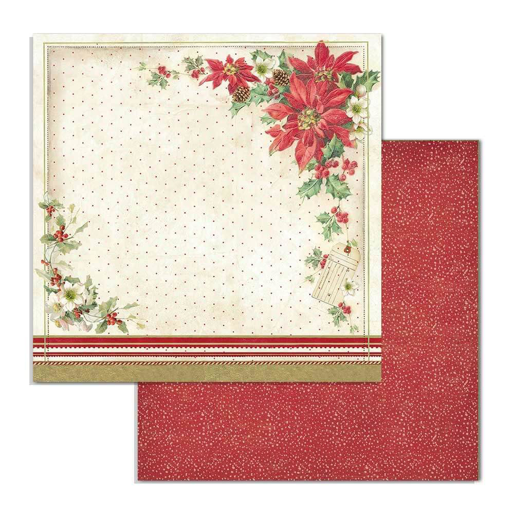 Afbeeldingen van Stamperia Classic Christmas 6x6 Inch Paper Pack