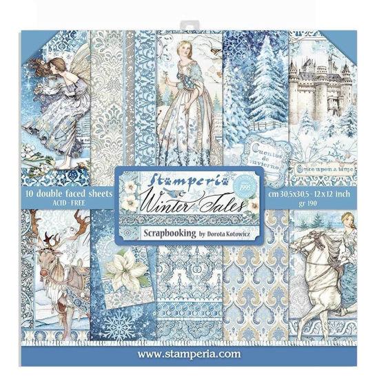 Stamperia Winter tales 6x6 Inch Paper Pack